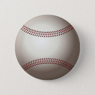 béisbol (bola) chapa redonda de 5 cm