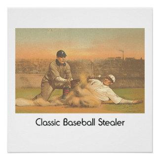 Béisbol clásico SUPERIOR Perfect Poster