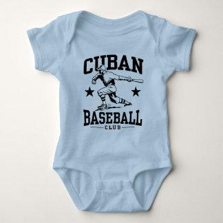 Béisbol cubano body para bebé