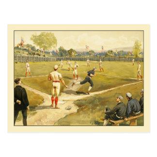 Béisbol de Henry Sandham Tarjetas Postales