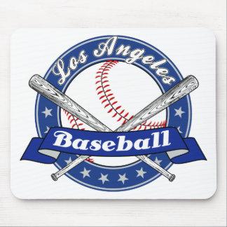 Béisbol de Los Ángeles Tapetes De Raton