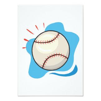 Béisbol Invitación Personalizada