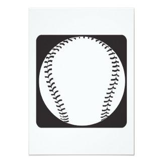 Béisbol Invitacion Personalizada