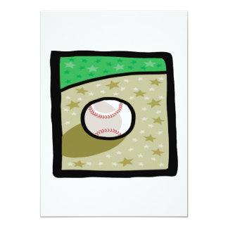 Béisbol Invitación 12,7 X 17,8 Cm