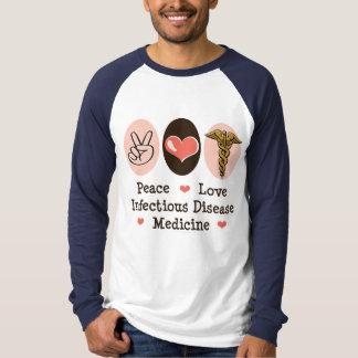 Béisbol T de la medicina de la enfermedad Camisetas
