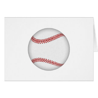Béisbol: Tarjeta De Felicitación