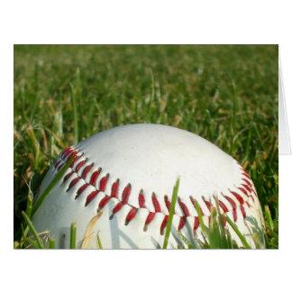 Béisbol Tarjeta De Felicitación Grande