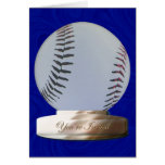 Béisbol usted es tarjeta invitada de la invitación