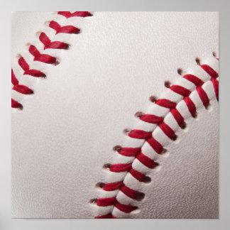 Béisboles - plantilla del fondo del béisbol del póster