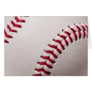 Béisboles - plantilla del fondo del béisbol del tarjeta