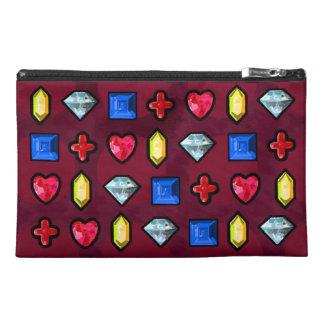 Bejewels el bolso del accesorio del viaje