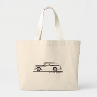 Bel Air 1955 del nómada de Chevy Bolsa Tela Grande