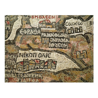 Belén, detalle de un mapa de Jericó Postal