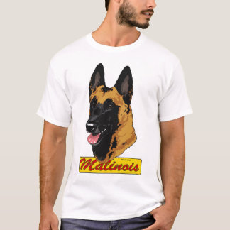 Belga Malinois Headstudy Camiseta