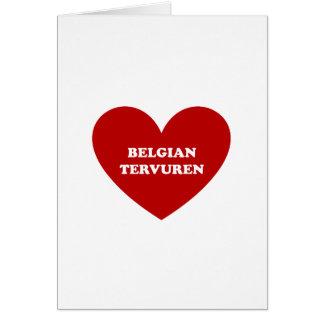 Belga Tervuren Tarjeta