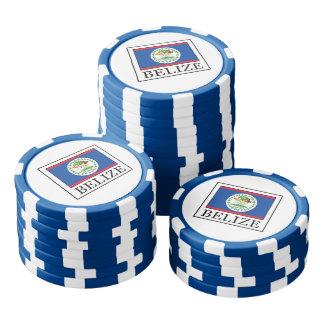 Belice Juego De Fichas De Póquer