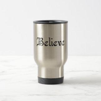 Believe3 Taza De Viaje