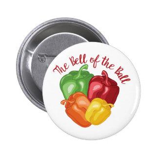 Bell de la bola chapa redonda de 5 cm