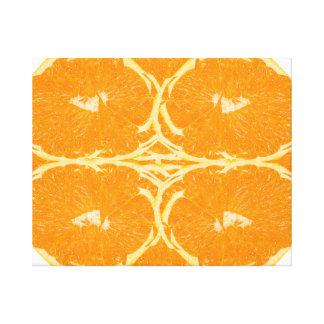 Bella arte anaranjada pelada de la estética del