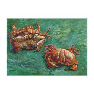 Bella arte de Van Gogh de dos cangrejos (F606)