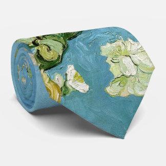 Bella arte de Van Gogh de las ramas del flor de la Corbatas Personalizadas