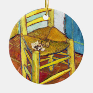 Bella arte de Vincent van Gogh de la silla de Van Ornatos