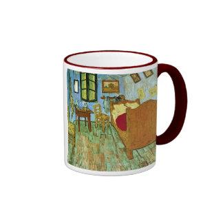 Bella arte del dormitorio de Van Gogh (F484) Taza A Dos Colores