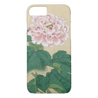 Bella arte floral del vintage de la abeja y del funda iPhone 7