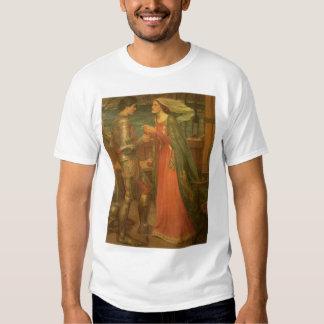 Bella arte, Tristan e Isolda del vintage por el Camisas