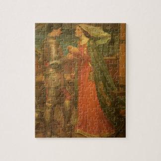 Bella arte, Tristan e Isolda del vintage por el Rompecabezas
