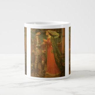 Bella arte, Tristan e Isolda del vintage por el Taza Grande