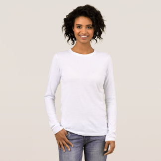 Bella de las mujeres+Camiseta larga de la manga de Camiseta De Manga Larga