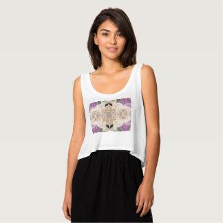 Bella de las mujeres+Camisetas sin mangas de la Camiseta Con Tirantes