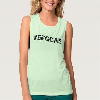 Bella de las mujeres de SFGGAE+Camisetas sin Camiseta Con Tirantes