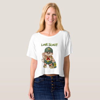 Bella de las mujeres del CAT del EXPLORADOR+Top Camiseta