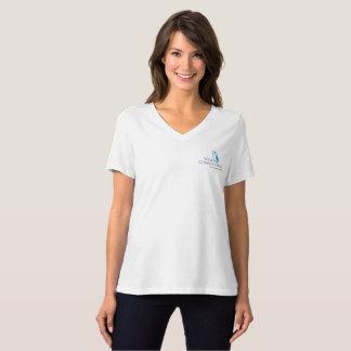 Bella de las mujeres sabias del búho+V-Camiseta Camiseta