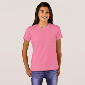 Bella de los chicas+Camiseta del equipo de la lona Camiseta