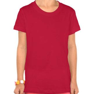 Bella de los chicas del barro amasado del camiseta