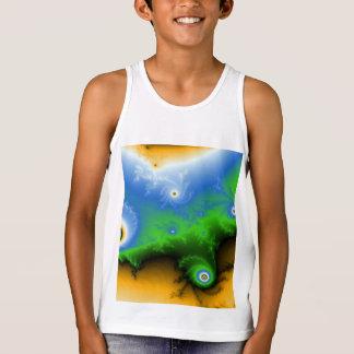 Bella de los niños+Camisetas sin mangas del jersey
