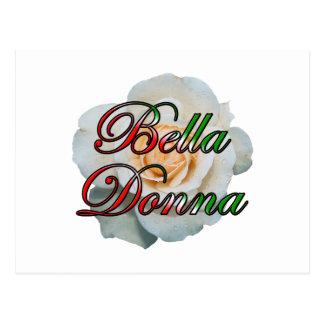 Bella Donna (señora hermosa) Postales