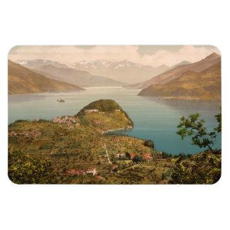 Bellagio IV, lago Como, Lombardía, Italia Iman Rectangular