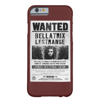 Bellatrix Lestrange quiso el poster Funda De iPhone 6 Barely There