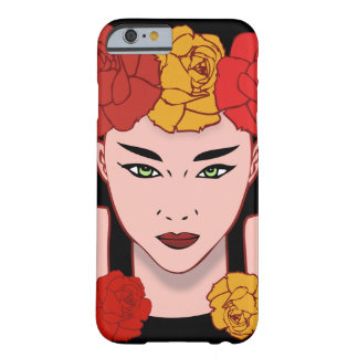 Belleza asiática funda barely there iPhone 6