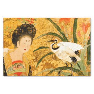 Belleza china y el papel seda de la grúa 10lb