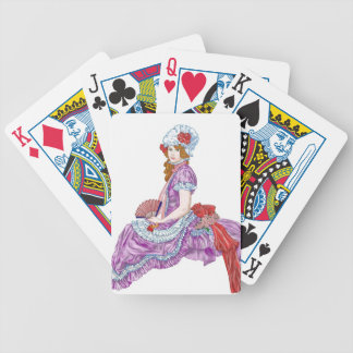 Belleza colonial cartas de juego