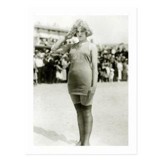 Belleza de Atlantic City, 1900s tempranos Postal