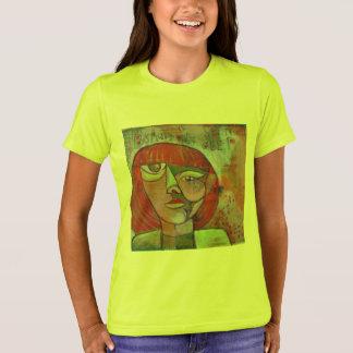 Belleza de la camiseta del chica la 'es solamente