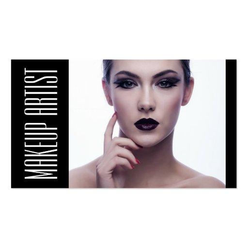 Belleza de la cosmetología del Cosmetologist del Plantilla De Tarjeta De Negocio