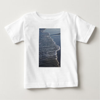 Belleza de la línea de la playa camiseta de bebé