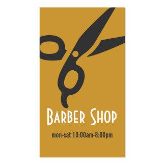 Belleza de la peluquería de caballeros del salón d tarjetas de visita